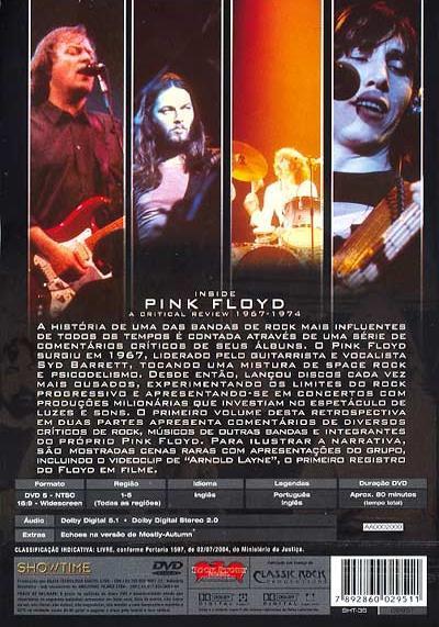 Inside Pink Floyd: A Critical Review 1967 - 1974 Vol.1 Inside11