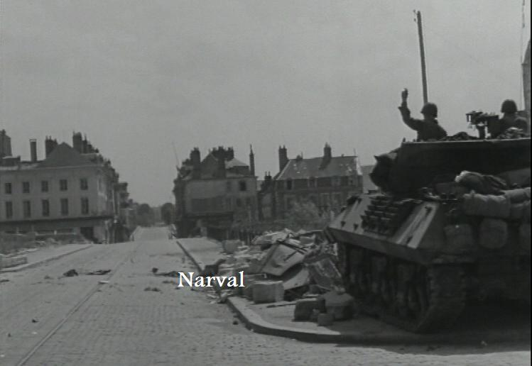 Task Force Sebree et CCB 4th AD à Orléans et Bricy St_geo10