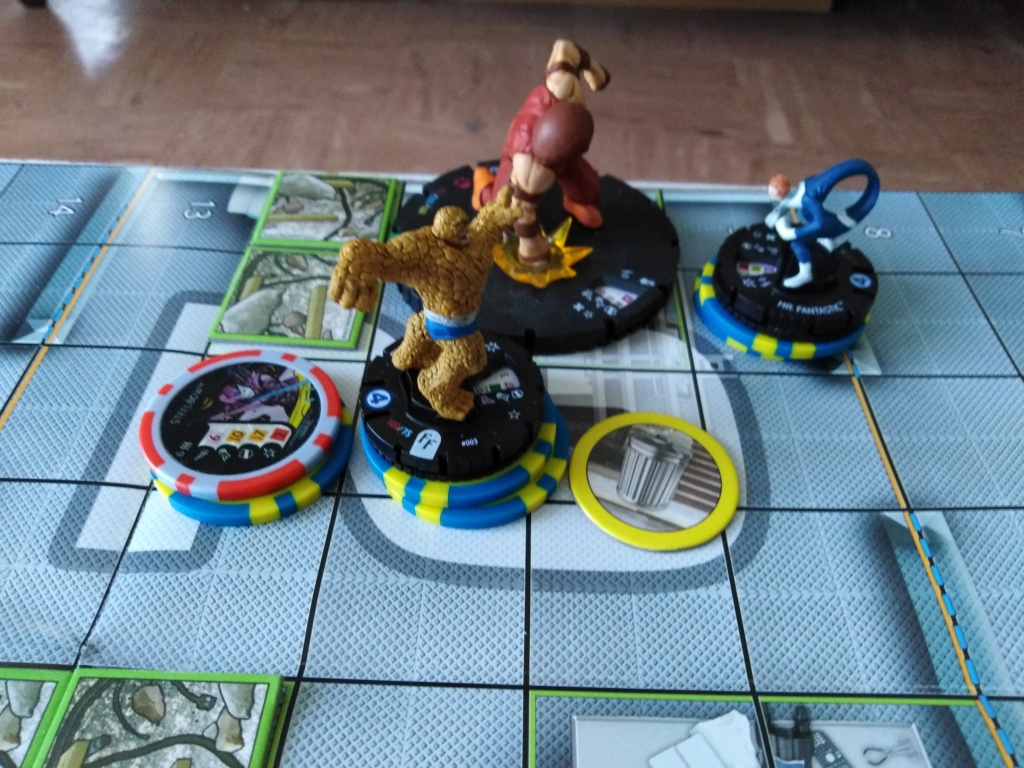 Marvelous cloberrin' day : campagne heroclix. Img_2507