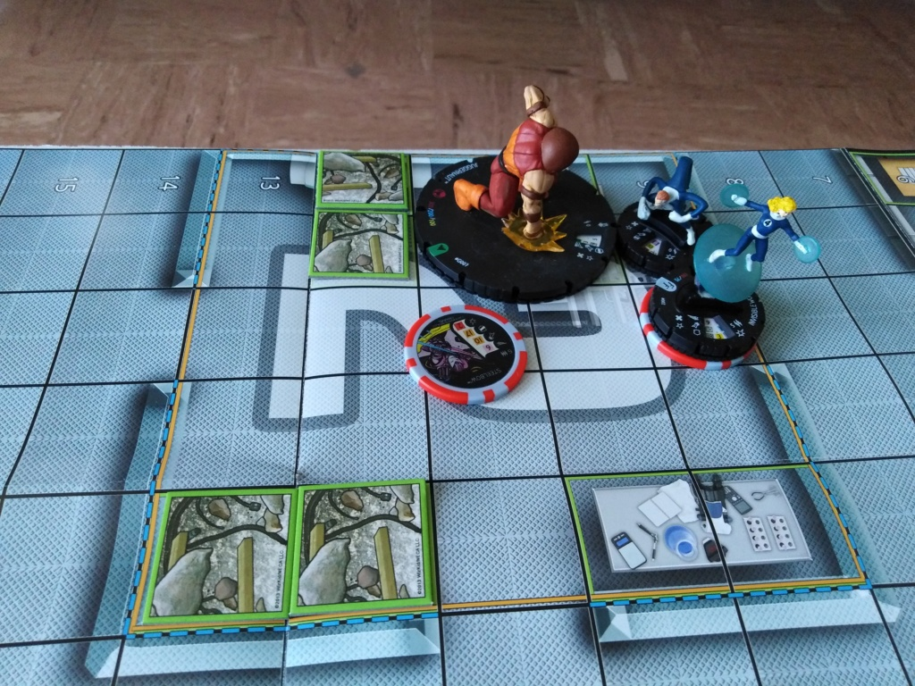 Marvelous cloberrin' day : campagne heroclix. Img_2509