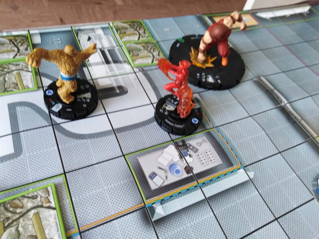 Marvelous cloberrin' day : campagne heroclix. Img_2510