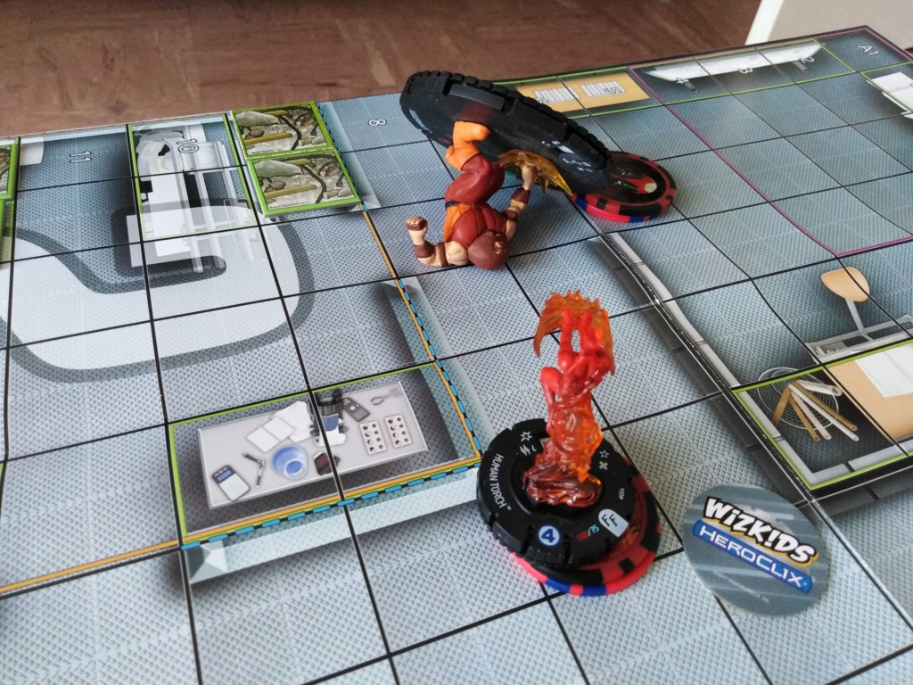 Marvelous cloberrin' day : campagne heroclix. Img_2513