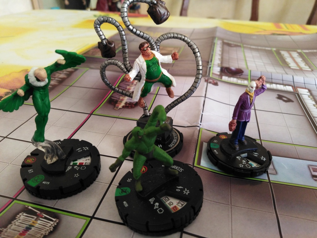 Marvelous cloberrin' day : campagne heroclix. Img_2523