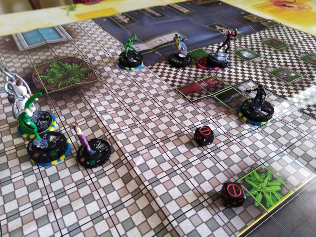Marvelous cloberrin' day : campagne heroclix. Img_2527