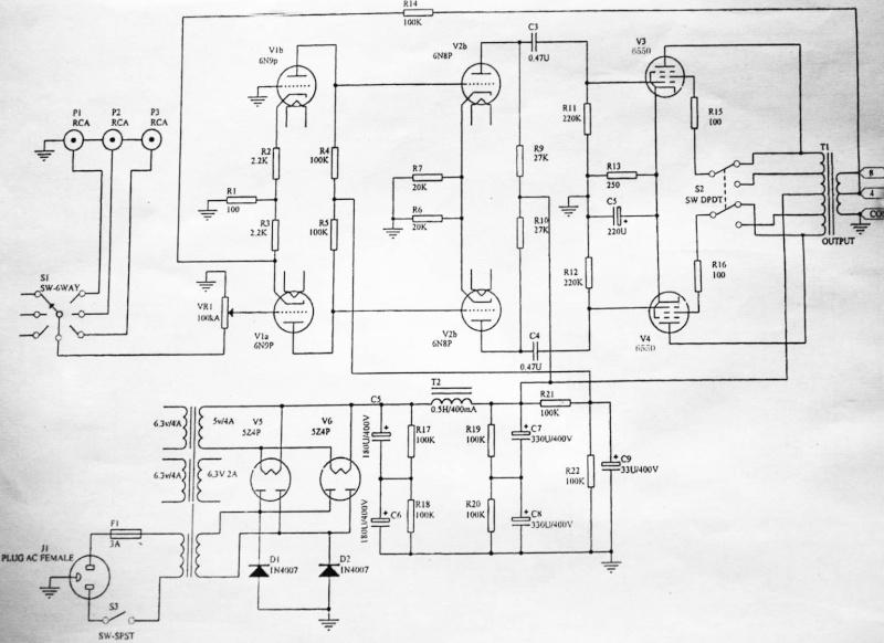 Un integrato a tubi da consigliare: Bewitch 6550 Bewitc10