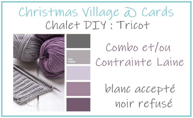 Christmas Village @ Cards {Chalet DIY - Tricot} Chalet17