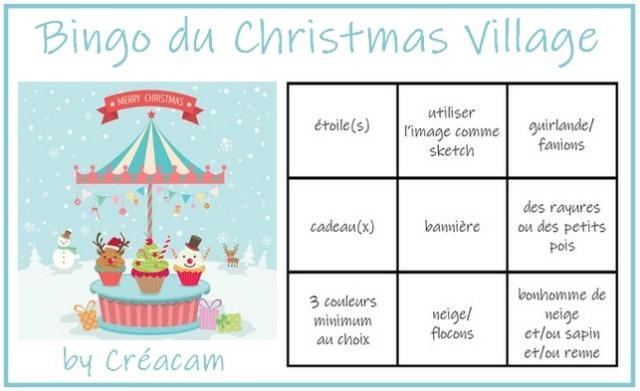 Christmas Village @ Cards {Manège} Christ10