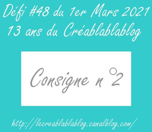 Défi#48 - Anni du CBBB  Consig23