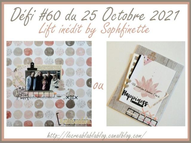 #Défi 60 - 25/10 - Lift de page ou de carte Dzofi230