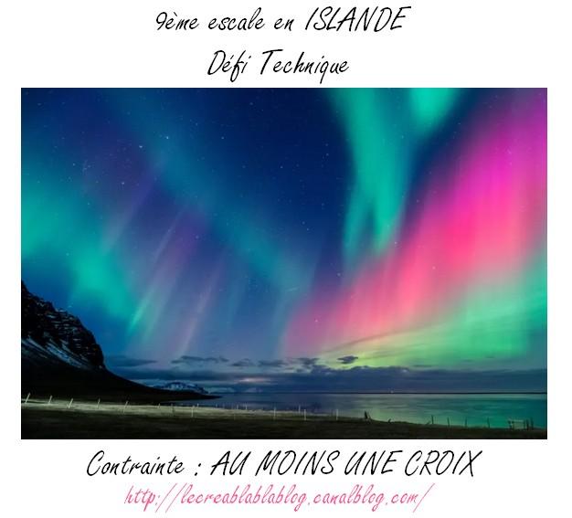 #S9 - 30/08 - Défi 9 de l'été - Escale en Europe du Nord by Créacam : Islande Escale18