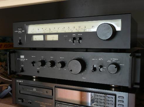 ampli intégré vintage Sansui AU 217 II P1000218