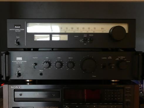 ampli intégré vintage Sansui AU 217 II P1000219