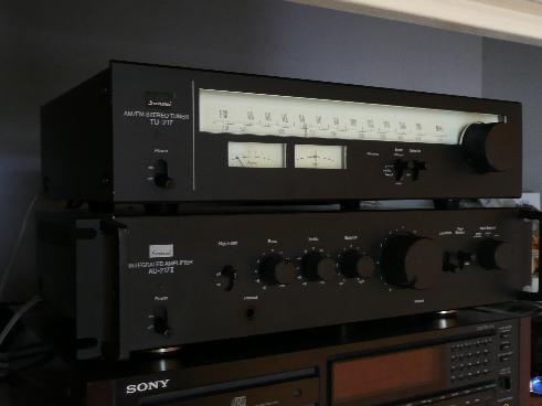 ampli intégré vintage Sansui AU 217 II P1000310