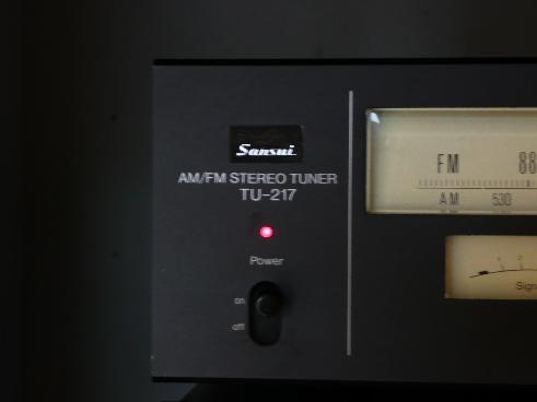ampli intégré vintage Sansui AU 217 II P1000311