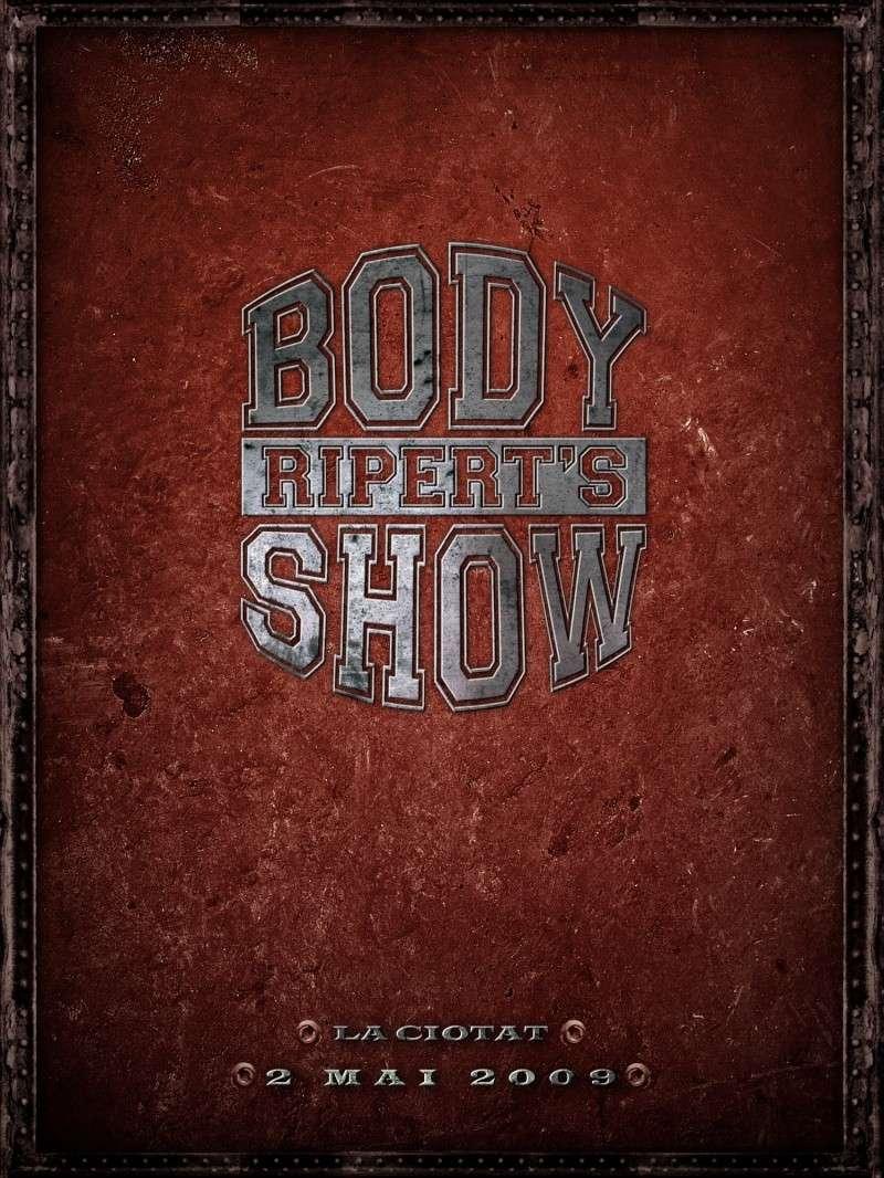 Ripert Body Show - La Ciotat (2 mai 2009) Affich10