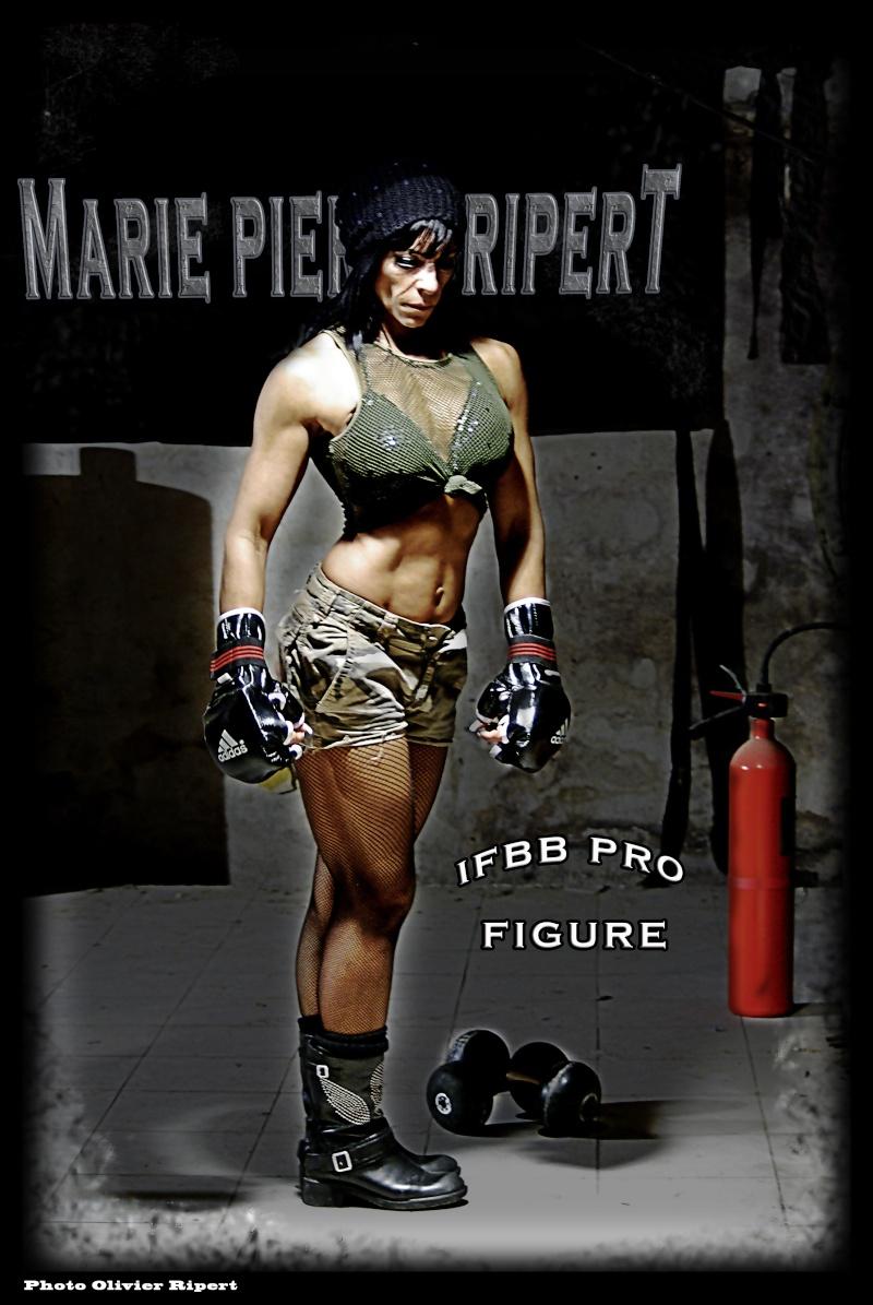 Marie Pierre Ripert 1ere Pro Figure IFBB Française. Marie_12