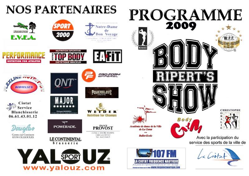 body - Ripert Body Show - La Ciotat (2 mai 2009) - Page 4 Progra11