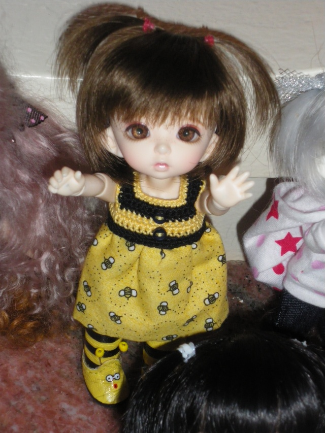eleowine, capucine, eglantine, camélia et maiwen ma petite famille pukifee au complet+pigglet family Imgp5413