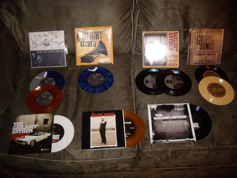 my [your] Gaslight Anthem audio collection Imgp4010