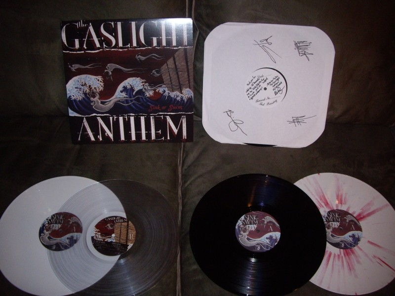 my [your] Gaslight Anthem audio collection Imgp4013