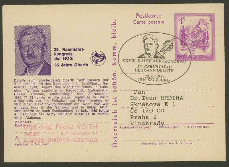 Zudrucke der Astro-Philatelie auf Ganzsachen-Postkarten 02_p_410