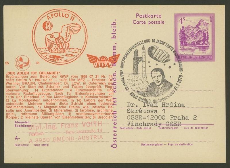 Zudrucke der Astro-Philatelie auf Ganzsachen-Postkarten 03_p_410