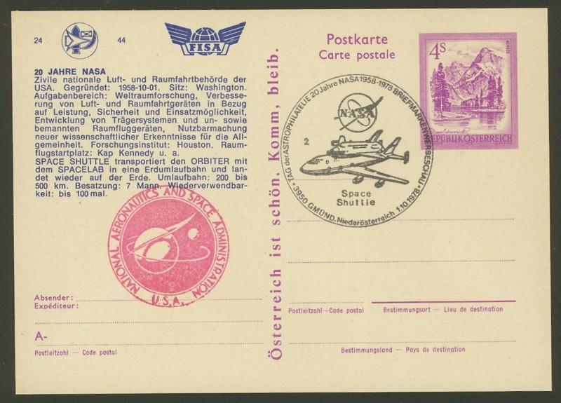 Zudrucke der Astro-Philatelie auf Ganzsachen-Postkarten 04_p_410
