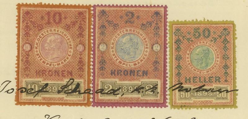 Die Verwendung von Fiskalmarken in Österreich 06_mar10