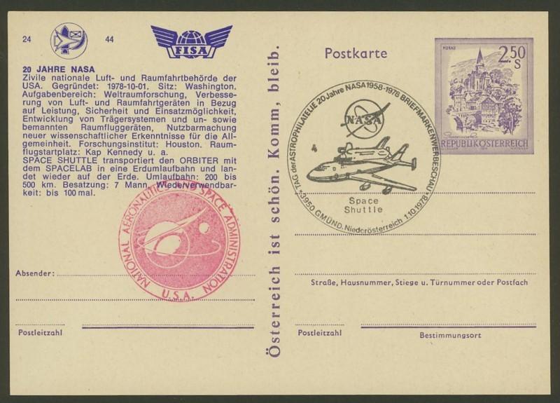 Zudrucke der Astro-Philatelie auf Ganzsachen-Postkarten 07_p_410