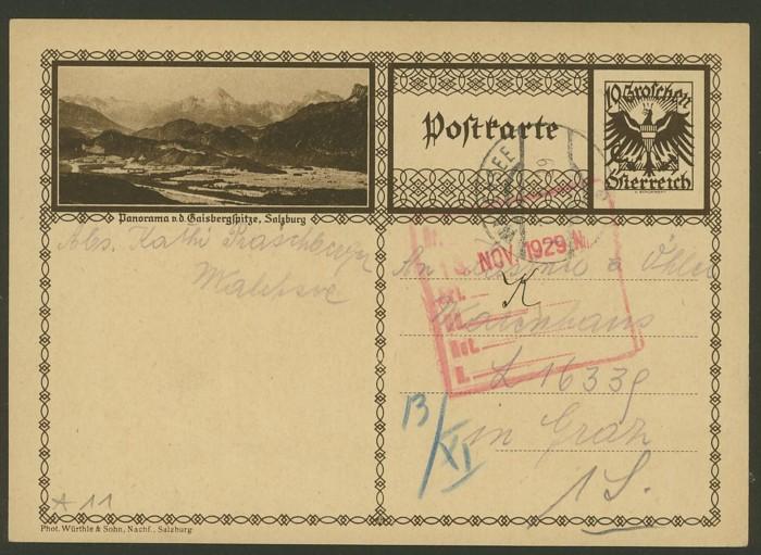 Bildpostkarten Österreich  -  Mi. P 278 11_20010
