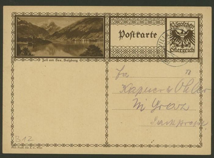 Bildpostkarten Österreich  -  Mi. P 278 12_20010