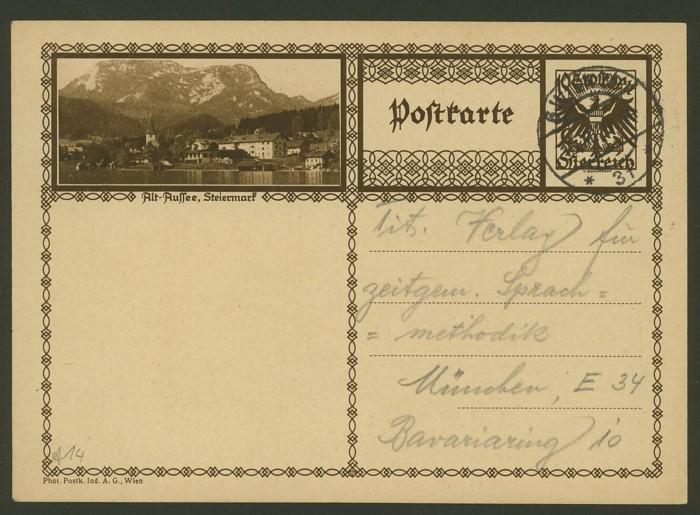 Bildpostkarten Österreich  -  Mi. P 278 14_20010