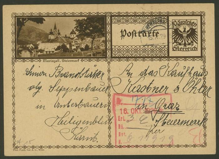 Bildpostkarten Österreich  -  Mi. P 278 15_20010