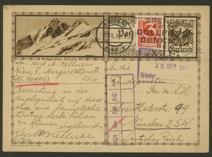 Bildpostkarten Österreich  -  Mi. P 278 16_20010