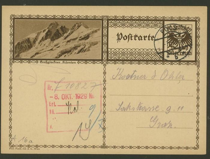 Bildpostkarten Österreich  -  Mi. P 278 16a_2010