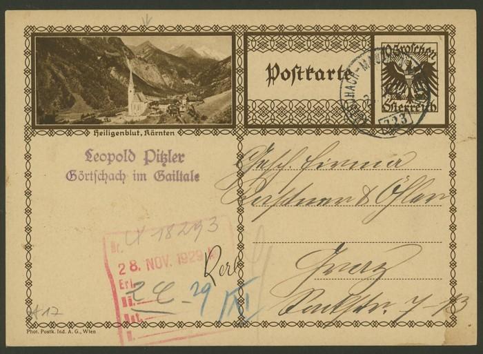 Bildpostkarten Österreich  -  Mi. P 278 17_20010