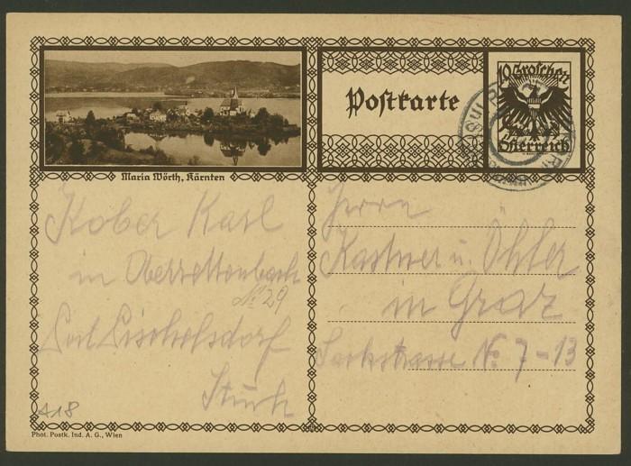 Bildpostkarten Österreich  -  Mi. P 278 18_20010