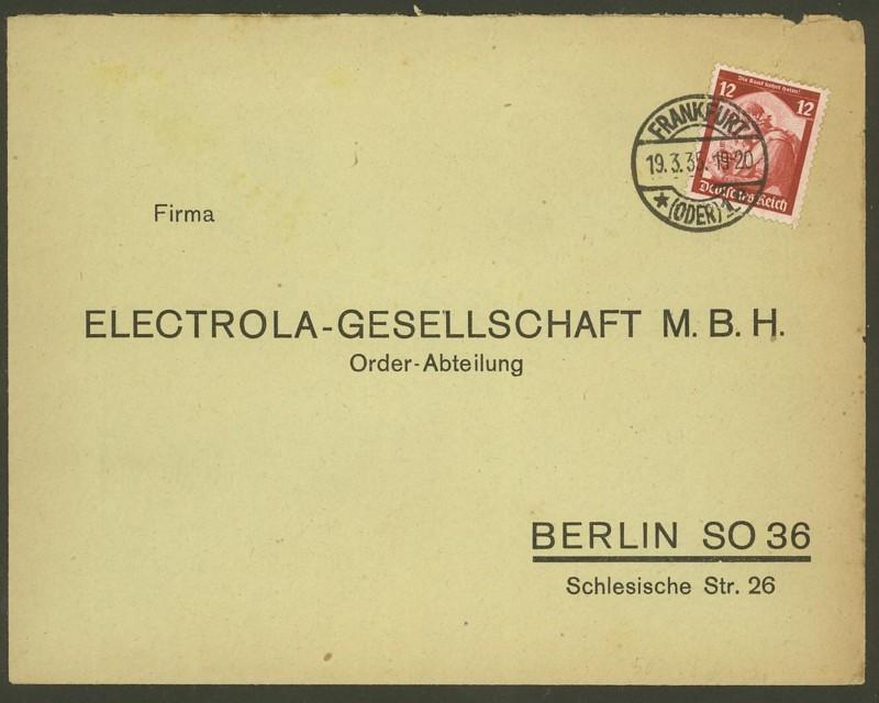 Deutsches Reich  -  Schöne Briefe 19033510