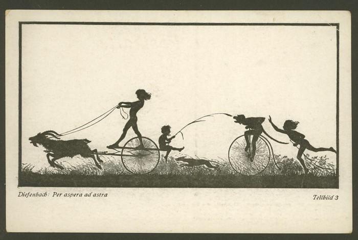 Scherenschnitte 1910