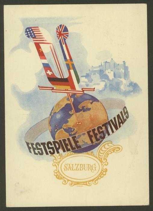 Musik  /  Salzburger Festspiele 1950_r10