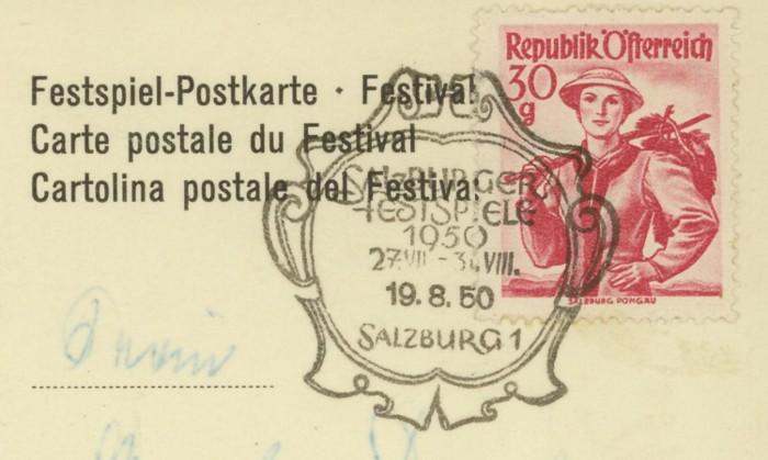 Musik  /  Salzburger Festspiele 1950_v10