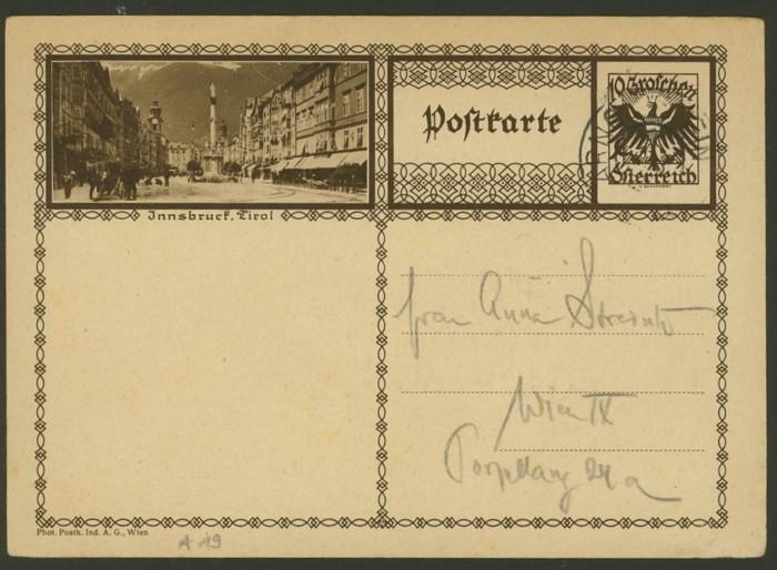 Bildpostkarten Österreich  -  Mi. P 278 19_20010