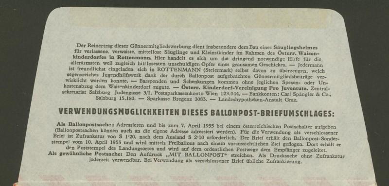 ballonpost - Die Privatganzsachen der österreichischen Ballonpost 1_10