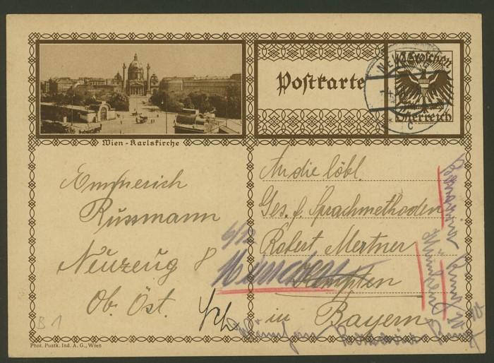 Bildpostkarten Österreich  -  Mi. P 278 1_20011