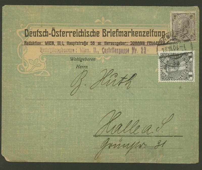 Ältere Briefe von Österreich  -  nett anzuschauen 211
