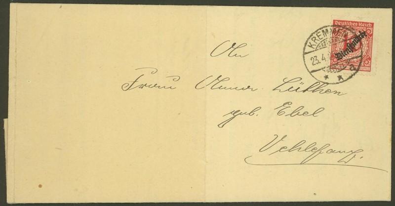Deutsches Reich  -  Schöne Briefe 23042510