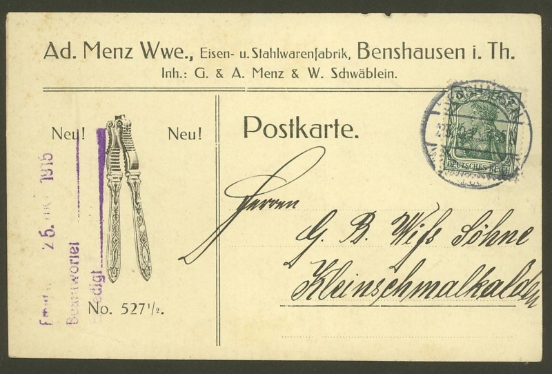 Deutsches Reich  -  Schöne Briefe 23101510