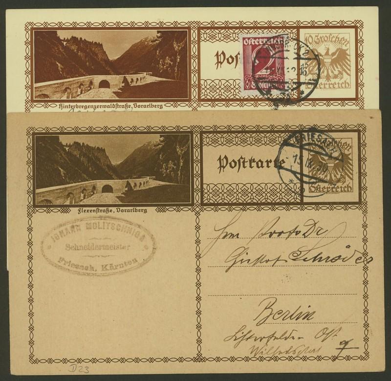 Bildpostkarten Österreich  -  Mi. P 278 23_kar10