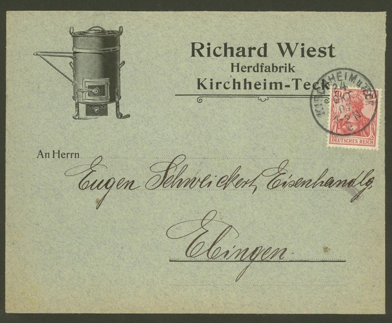 Deutsches Reich  -  Schöne Briefe 24100710