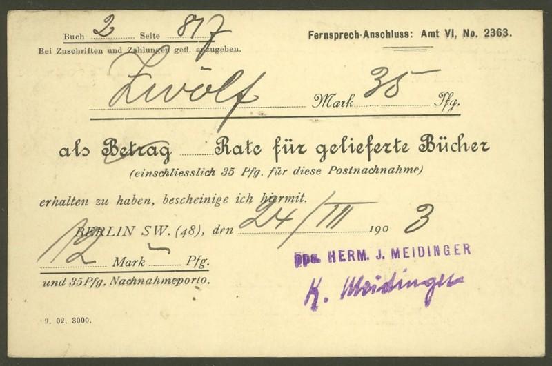 Deutsches Reich  -  Schöne Briefe 25030311